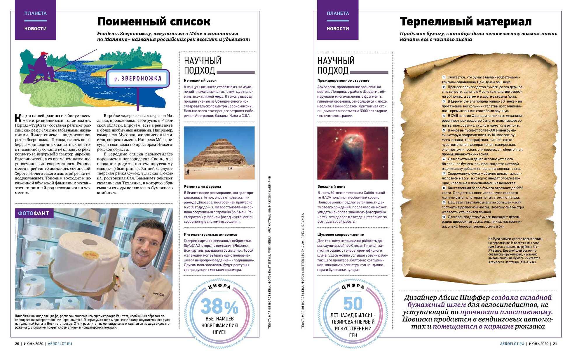 Аэрофлот - каталог действителен с 01.06.2020 по 30.06.2020 - страница 4.